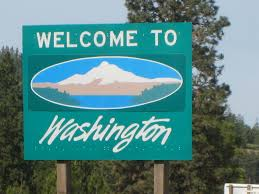 Washington welcomes me home