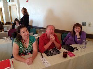 I met Joanna Penn, Kevin J. Anderson, and Rebecca Moesta
