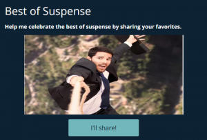 Celebrate the best of suspense