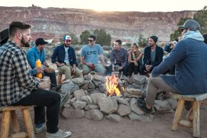 Stories around the campfire